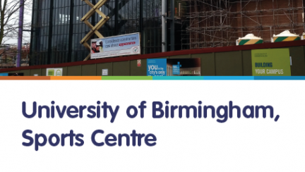 Case studies from riw knowledge bank University of birmingham swimming pool