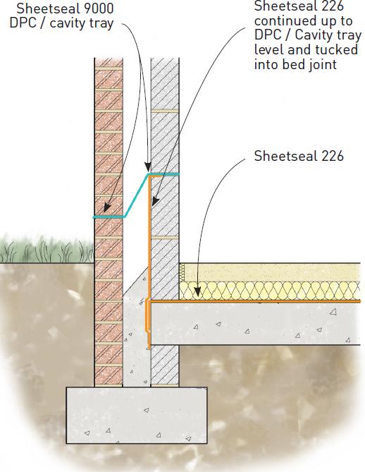 Detail 3 - Ground Floor DPM