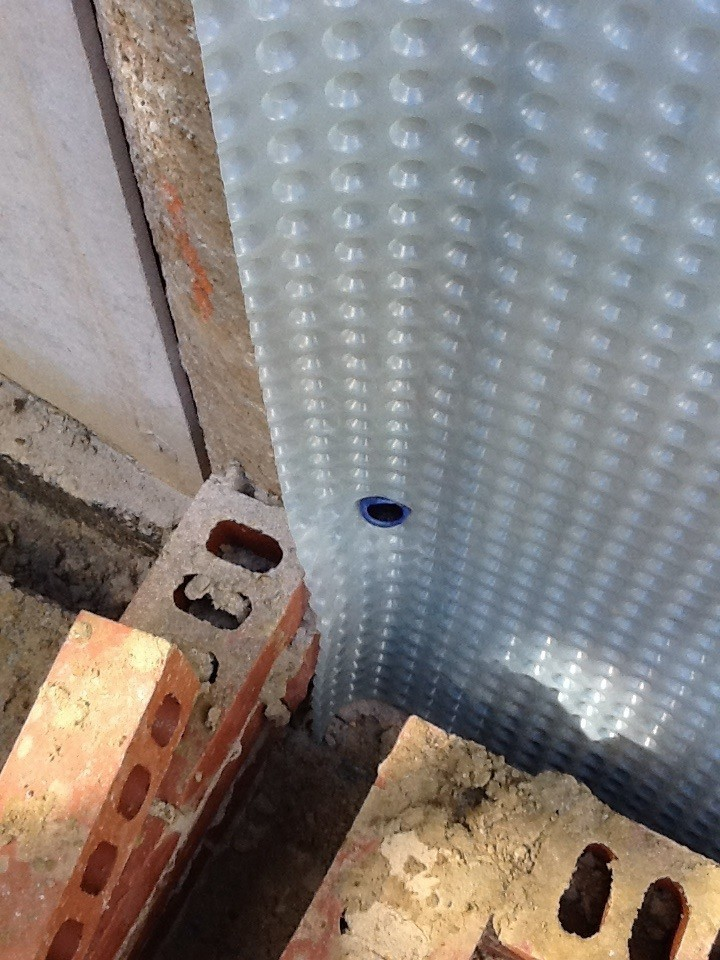 Cavity Drain - Internal Cavity Drainage Membrane Systems | RIW Products