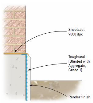 Plinth detail